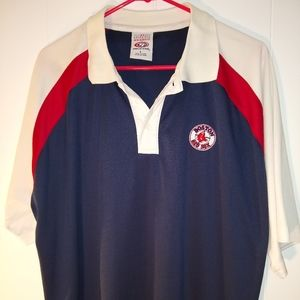 Boston Red Sox Men's Polo Large
